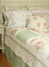 Shabby Chic Quilt - large blocks   Sewing Projects ...