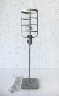 Industrial Cage Floor Lamp | www.imgkid.com - The Image ...