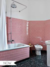 25+ best ideas about Pink Tiles on Pinterest | Pink ...