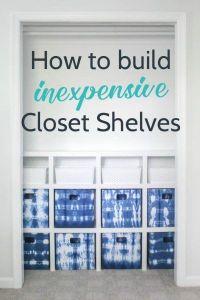 17 Best ideas about Diy Closet Shelves on Pinterest ...