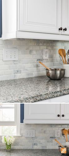 kitchen ideas inspiration kitchen countertops home depot Let The Home Depot install your kitchen backsplash for you It s quick easy