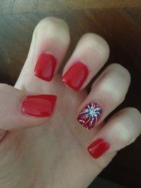 Feature Fireworks | Fourth of July Nails | Hair Salon ...