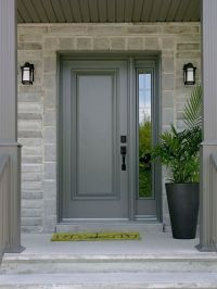 Steel Entry Doors With Sidelights And Transom | entry ...