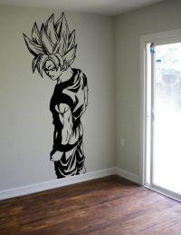 Fan Art Vinyl Wall Decal - Awesome Wall Decor | Goku ...