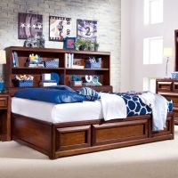 Expressions Platform Storage Bed by Lea Furniture   Solid ...