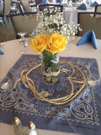 western wedding table setting ideas western wedding table ...