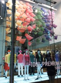 Uniqlo Kite Windows in Westfield for Spring Summer 2015 by ...