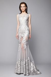 25+ best ideas about Silver gown on Pinterest