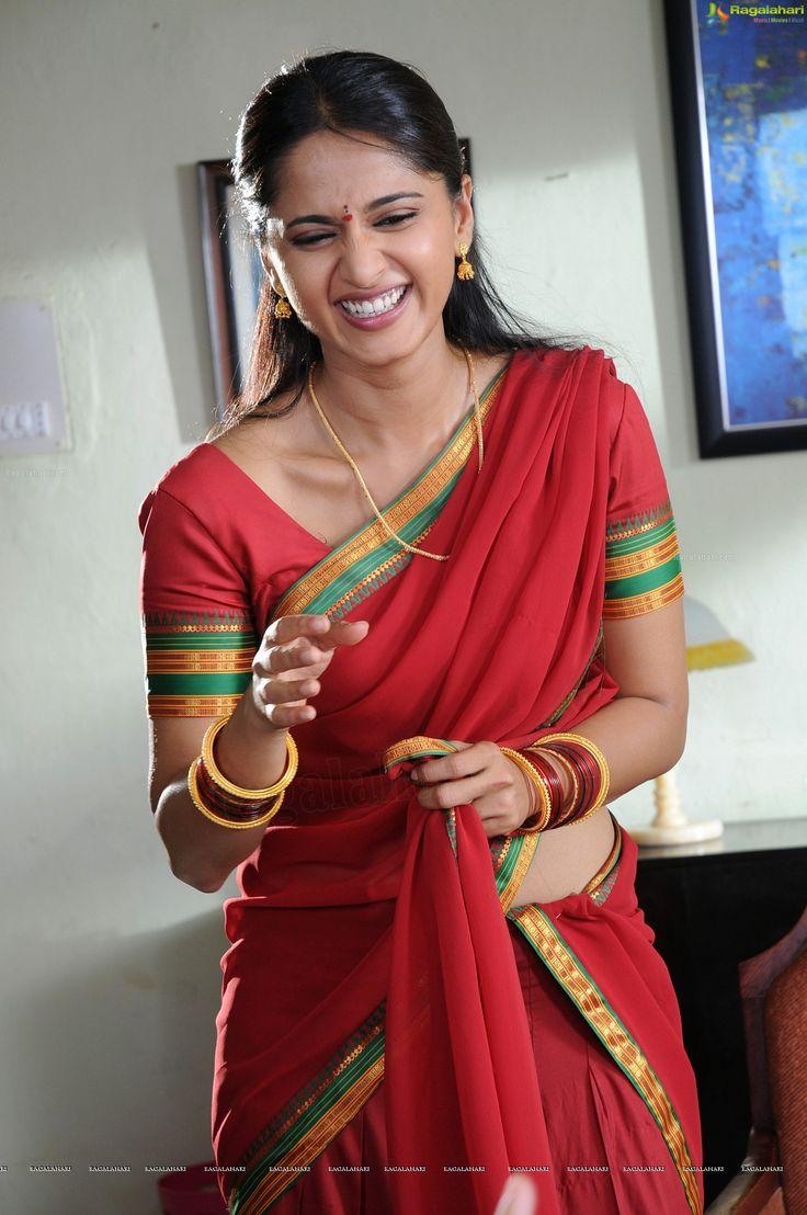Singam 3 Hd Wallpaper Anushka In Red Actress In Saree Pinterest Actresses