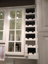 Built in wine rack from Ikea! | New House Ideas ...