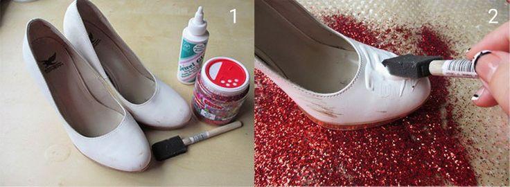 Diy Shoe Decorating Ideas Diy Do It Yourself