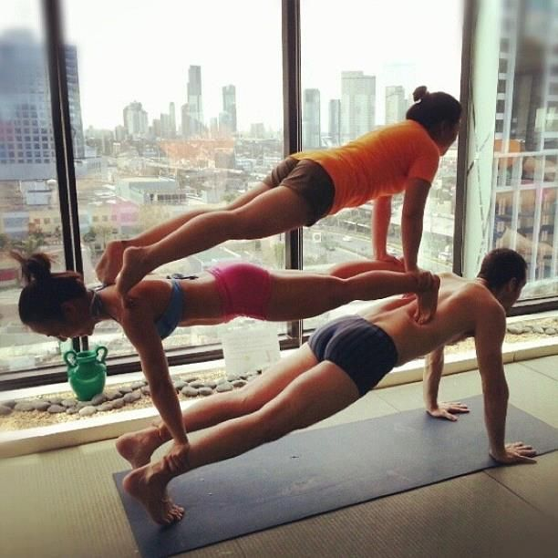 17 Best Images About Partner Yoga 3 On Poses