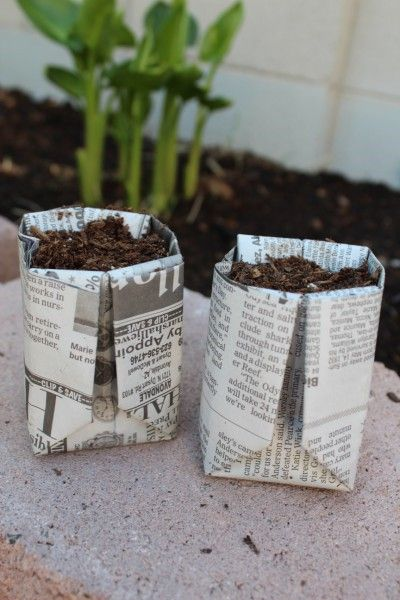recycled paper with flower seeds