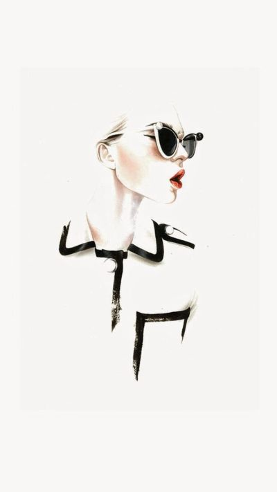 25+ best ideas about Fashion wallpaper on Pinterest | Coco chanel wallpaper, Fashion painting ...