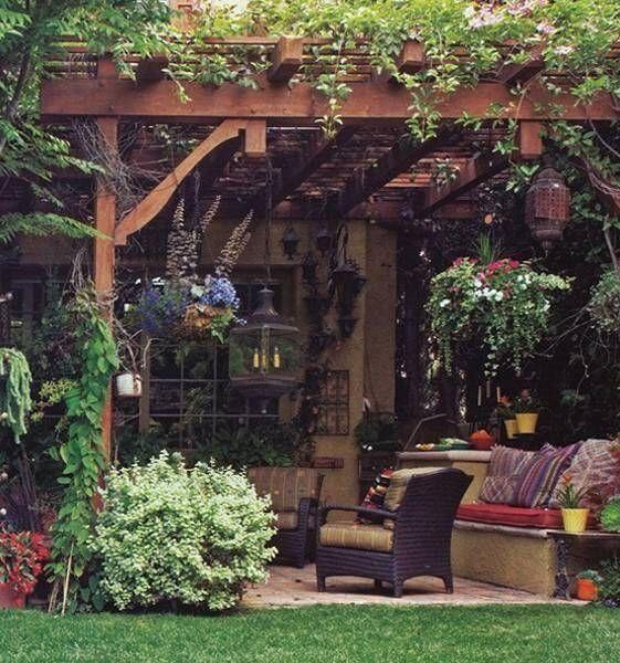 Best 25+ Cozy backyard ideas that you will like on
