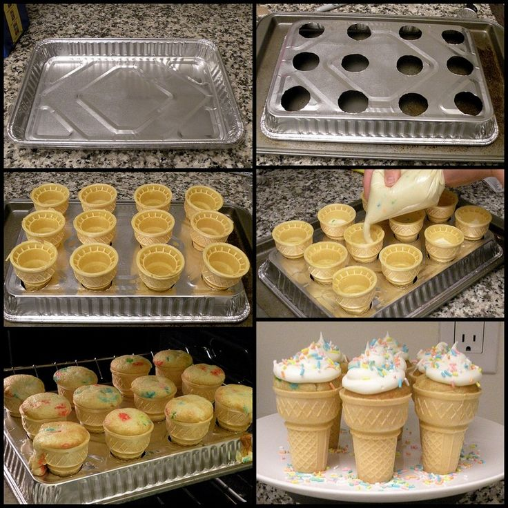 1000+ Ideas About Icecream Cone Cupcakes On Pinterest | Cone