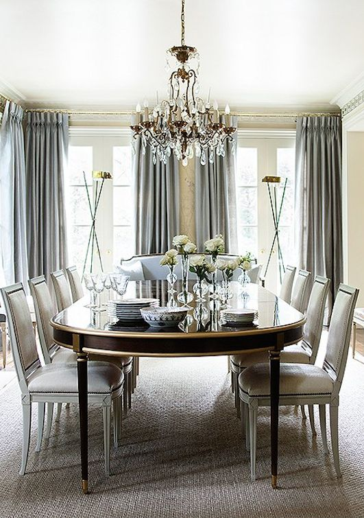 17 Best ideas about Dining Room Curtains on Pinterest