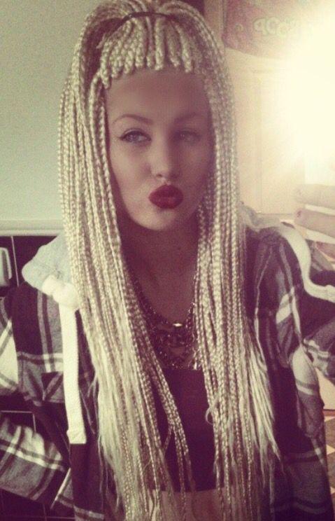 465 best images about Box braids on Pinterest