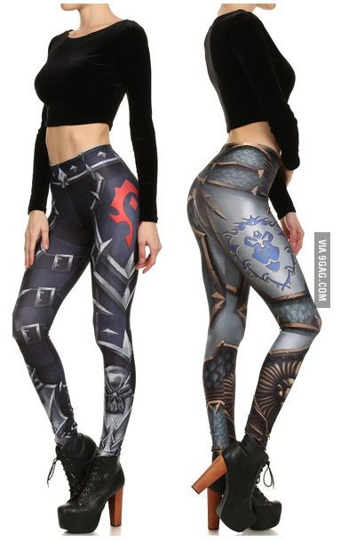 Black And White Pin Up Girl Wallpaper World Of Warcraft Leggings Google Search Geeky Stuff I