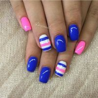 25+ best ideas about Pink nail designs on Pinterest | Prom ...