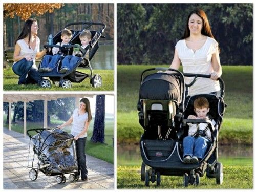 Britax Double Pushchair Reviews Britax B Agile Double Stroller I Like The Kids Beside Each
