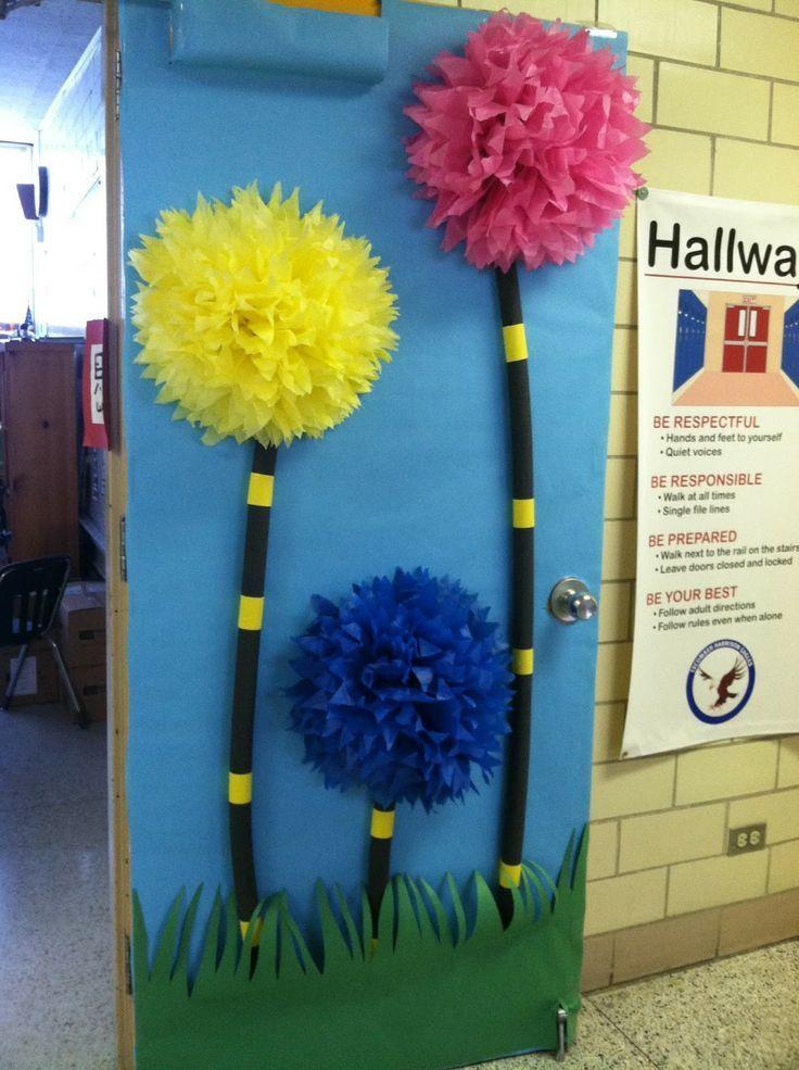 march classroom door decorating ideas