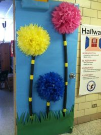 march classroom door decorating ideas | Here are some more ...