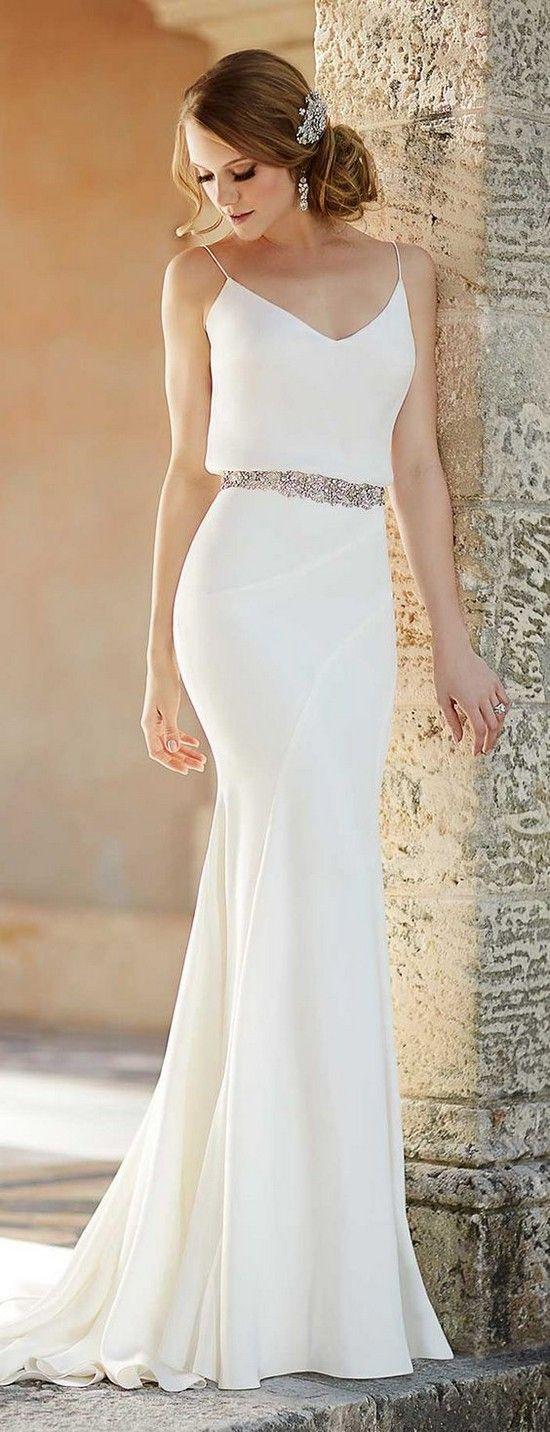 wedding dress gallery beach dresses for weddings Top 20 Beach Wedding Dresses with Gorgeous Details