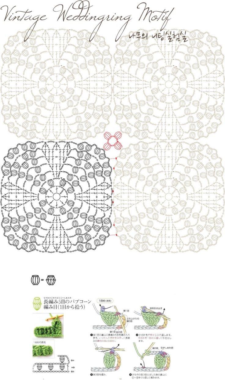 crochet afghans diagram