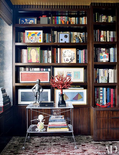 How To Make A Statement With A Stylish Bookcase Style