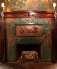 Rookwood tile fireplace | Fireplaces | Pinterest | My ...