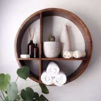 9 best round wall shelves images on Pinterest