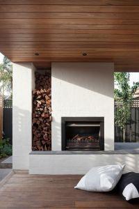 Best 25+ Modern outdoor fireplace ideas on Pinterest