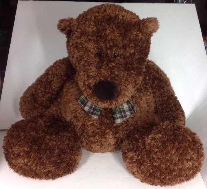Teddy Bear Plush Brown Bear Stuffed Animal Large Jumbo