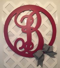 17 Best ideas about Monogram Door Hangers on Pinterest ...