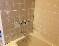 doorsixteen_aptcaulk_grouting (redoing the bath/shower ...