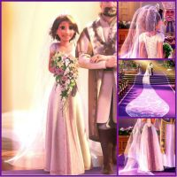 25+ best ideas about Rapunzel Wedding Dress on Pinterest ...