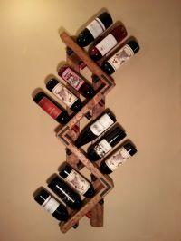 25+ Best Ideas about Wine Holders on Pinterest | Pallet ...