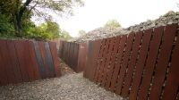 Corten steel retaining wall - Google Search | Landscaping ...