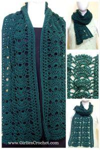 1000+ ideas about Free Crochet Scarf Patterns on Pinterest ...