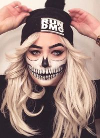 17 Best ideas about Cool Halloween Makeup on Pinterest ...