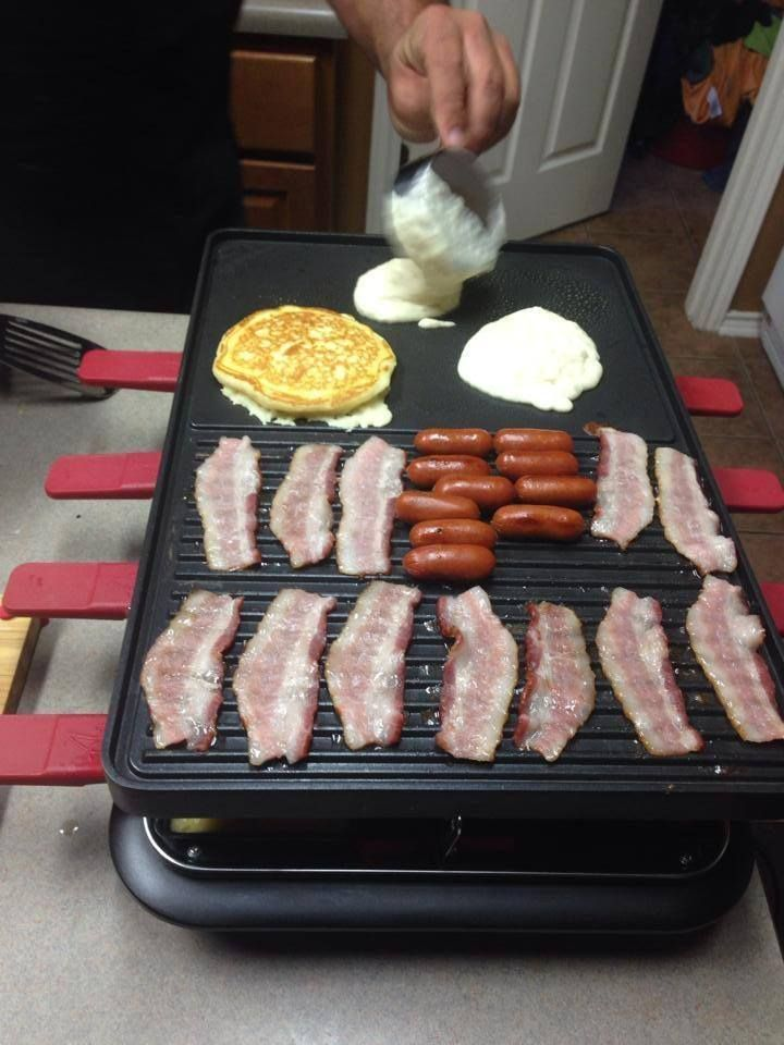 Raclette Spring Breakfast On The Velata Raclette Grill!!!! The