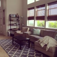 Living room. Target fretwork rug. | Living Room ...