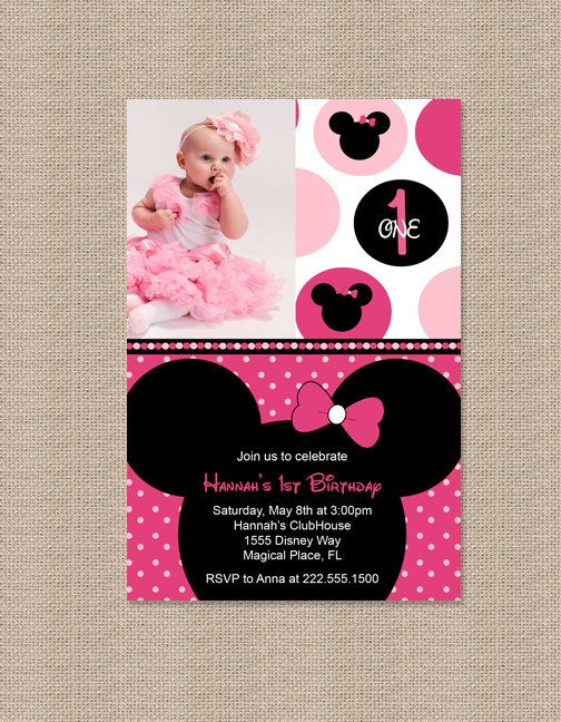 1000 Images About Minnie Mouse Pink Party On Pinterest