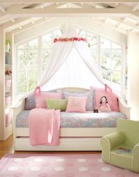 Girls Daybed & Canopy for Girls Room | Day bed, Girls and ...