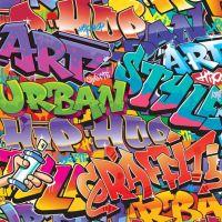 Walltastic Graffiti Wallpaper Mural - 42827 | boys bedroom ...