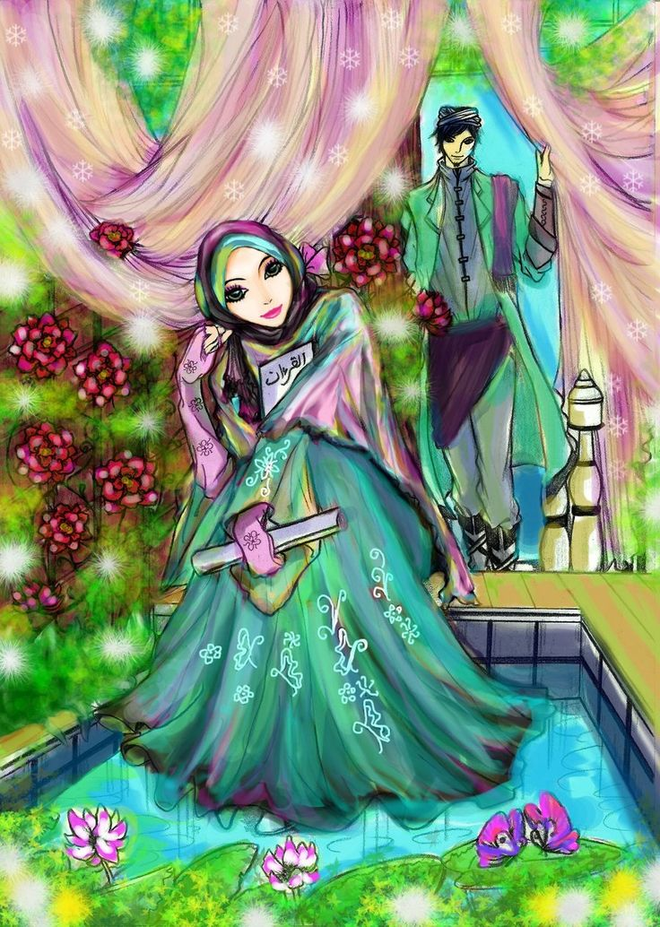 Muslim Couple Quotes Wallpaper 1000 Images About Hijab Cartoon On Pinterest Muslim