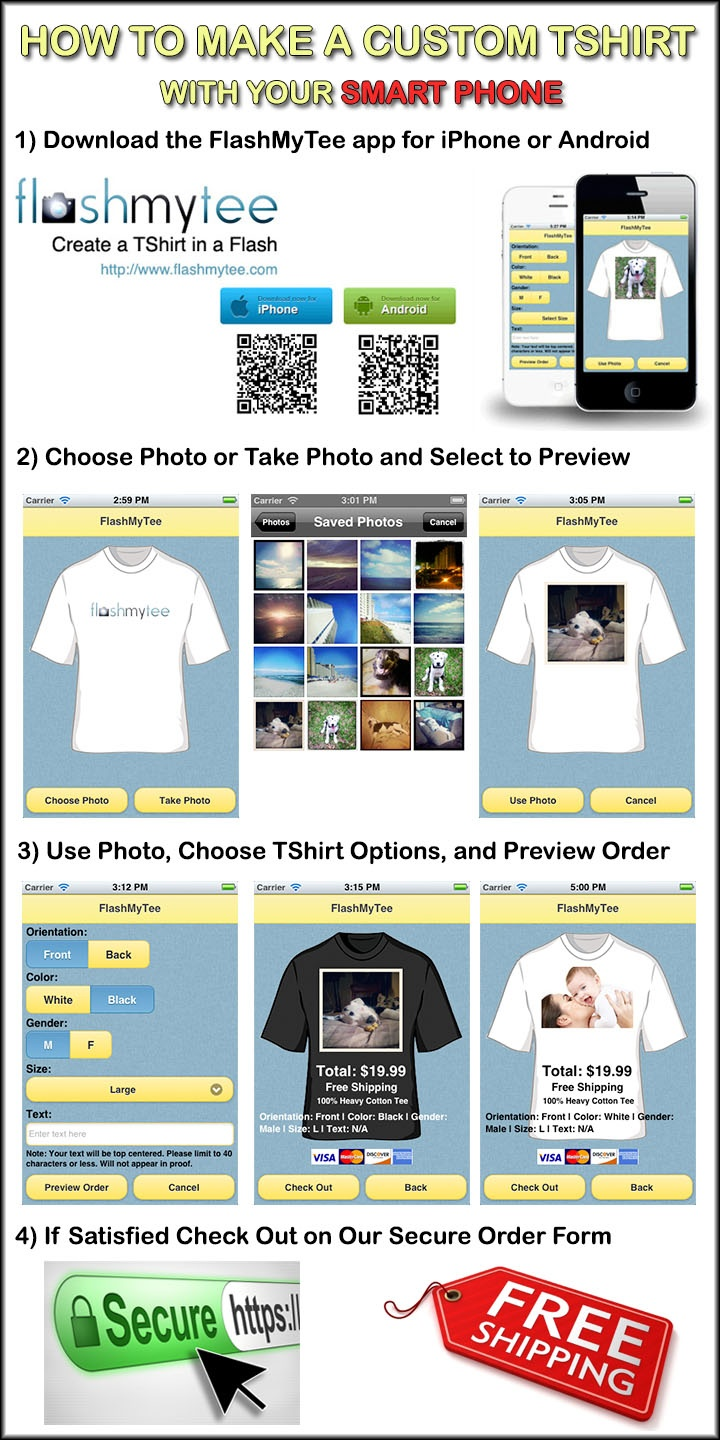 Design your own t shirt app - Design Your Own T Shirt App Make A Custom Tshirt With Your Smart Phone How Download