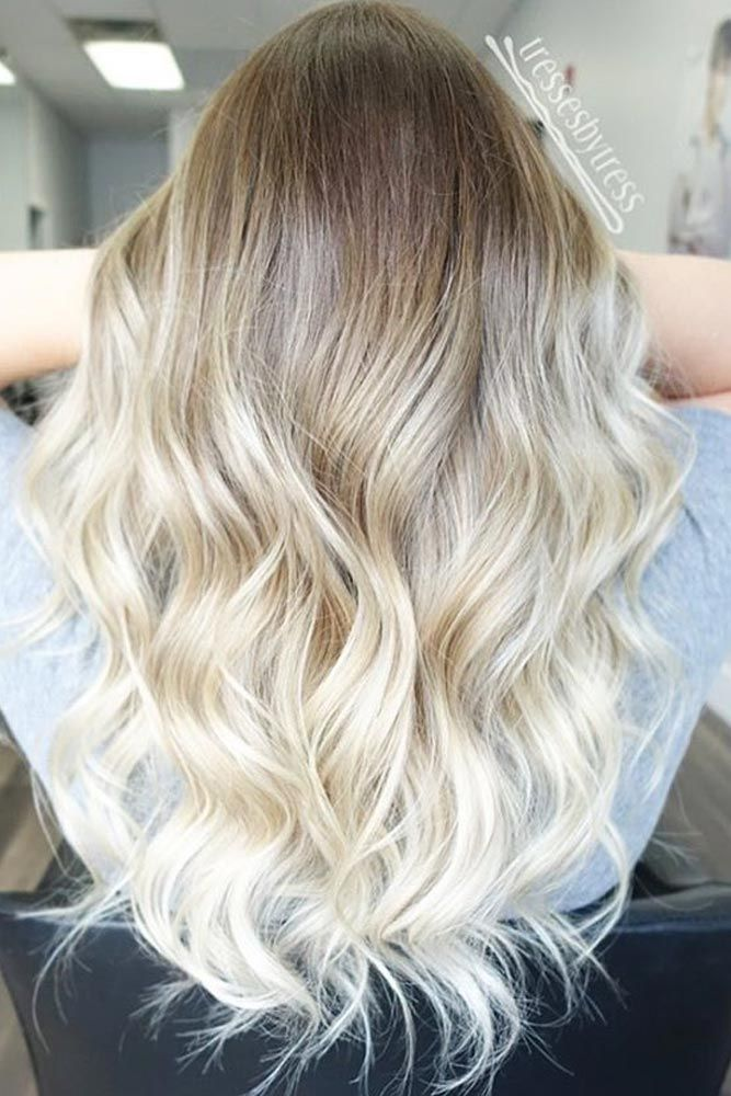 Hairstyles For Hair Growing Out 60 Most Popular Ideas For Blonde Ombre Hair Color Blonde