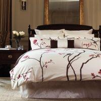 Sakura duvet | Geisha bedroom designs | Pinterest